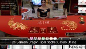Tips Bermain Dragon Tiger Sbobet Casino Online