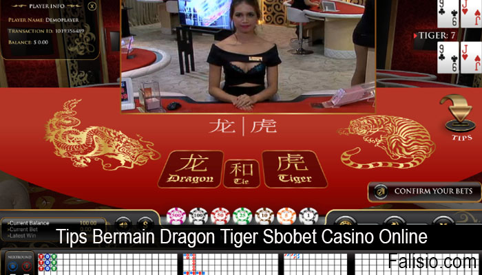 Tips Bermain Dragon Tiger Sbobet Casino Online