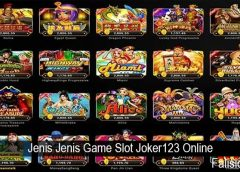 Jenis Jenis Game Slot Joker123 Online